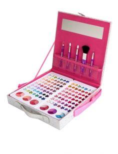 Best Makeup Artist Kit List Christmas Gifts Ideas – Famous Last Words Makeup Kit For Kids, Kids Makeup, Cute Makeup, Makeup Looks, Awesome Makeup, Girls Makeup Set, Makeup Ideas, Make Up Kits, Beauty Kit