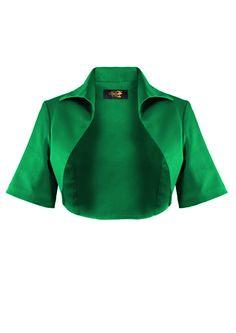 1950s Bolero Jacket - Emerald