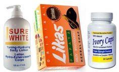 Body Lotion Sure White + Skin Whitening Likas Soap + IvoryCaps Glutathione Pills