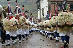 Los carnavales de Ituren y Zubieta en la edicion británica de IBTimes (fotos)