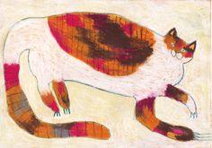 animal 2014.04 by machiko kaede, via Behance