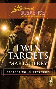 Twin Targets (Love Inspired Suspense) by Marta Perry, http://www.amazon.com/dp/0373443773/ref=cm_sw_r_pi_dp_OF2yrb12XAHPR