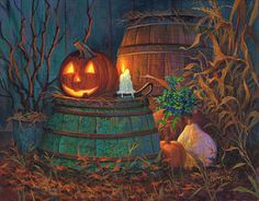 Painting - The Great Pumpkin by Michael Humphries