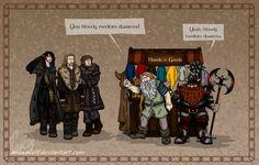 Bloody modern dwarves!!