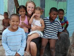 Teacher and Students, Dominican Republic | Find opportunities to teach, travel and volunteer with www.frontiergap.com | #education