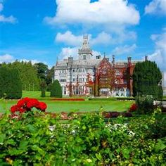 Ireland - beautifully dotted by Castles and Manors. Worse a visit!