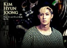 [TOP PHOT] Kim Hyun Joong Japan Mobile Site Update 2014.12.1