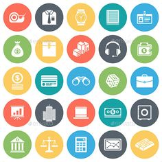 Business and Finance Icons — JPG Image #finance #support • Available here → https://graphicriver.net/item/business-and-finance-icons/9355511?ref=pxcr