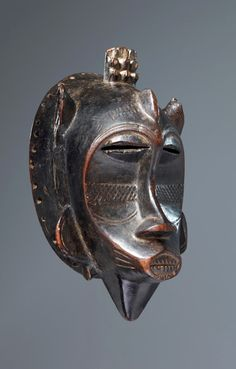 Africa | Mask from the Senufo people of the Ivory Coast | 19th century