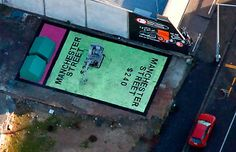 Monopoly Square, July 2012, Helen Trappitt and the Gap Filler Project, Manchester, NZ