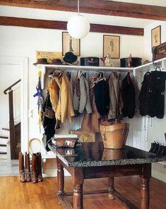 Equestrian boot room
