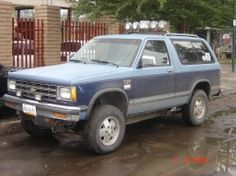 1986 Chevy S10 Blazer... My 10th new vehicle and first 4WD...  I played in the sand with this one.
