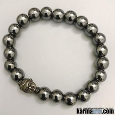 #BEADED #Yoga #Buddha #BRACELETS ♛ # Hematite is also good for working with the Root Chakra, helping to transform negative energies into a more positive vibration. #Mens #Buddhist #womens #Jewelry #Eckhart #Tolle #Crystals #Energy #gifts #Chakra #Healing #Kundalini #Law #Attraction #LOA #Love #Mala #Meditation #prayer #Reiki #mindfulness #wisdom #Fashion #Spiritual #Tony #Robbins #Gifts #friendship #Stacks #Lucky #birthday
