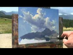 How to Paint Clouds online video workshop - Becky Joy