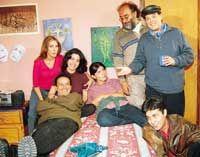 TRES DE NOSOTRAS (2003). Actor/director Pato Hoffmann. La Paz, Bolivia (circa December 2002).