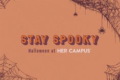 Not everyone enjoys scary movies, but you can still be involved in spooky season!