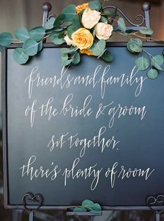 Photography : Charlotte Jenks Lewis Photography | Wedding Planner : A Trendy Wedding | Calligraphy : Meant To Be Calligraphy | Venue : Longview Gallery