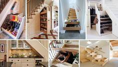 30 Genius Ways používat schody as Storage - architektura a design