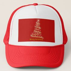 Merry Christmas Trucker Hat - merry christmas diy xmas present gift idea family holidays