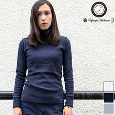 画像1: ファインクォーターチェックプロテクトボッシュタートルネックカットソー [Lady's]【MADE IN JAPAN】『日本製』/ Upscape Audience