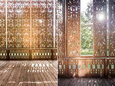 Stunning Lakeside Villa in Austria Boasts an Amazing Wooden Sh...