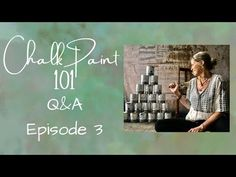 Chalk Paint 101 Questions et réponses: Épisode 3 - YouTube Dining Hutch, Boy Dresser, Chalk Paint Furniture, Annie Sloan Chalk Paint, Chair Fabric, Best Youtubers, Episode 3, Wedding Gowns, Decorating