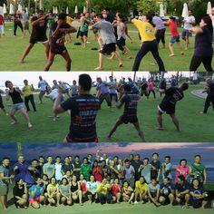 Combat 360X Muay Thai training on the beach near JW Marriott Khao Lak. Come and train in paradise www.combat360x.com #muaythai #nakmuay #kickboxing #thaiboxing #fitness #weightloss #bootcamp #phuket #khaolak #thailand