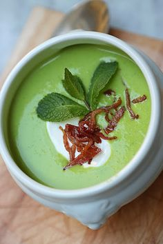 Zucchini soup by California Bakery