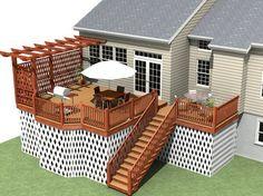 Patios Plan Modele Pergola Deck Plans Devistrex