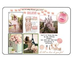 """""""I Believe in Dreams"""" by jamie-760 ❤ liked on Polyvore featuring Warehouse, Bare Escentuals, Jouer, Christian Dior, Anouska London Jewellery, Chanel, mel, girls, floral and dream"""
