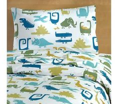 When Dinosaurs Roamed the Bedding