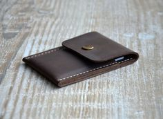 Mens wallet, Mens custom, Wallets for men - Front Pocket wallets-Minimalist Handmade Leather Credit Card Wallet, leather wallets.