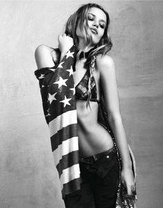 """Elle France April 2012, """"Tender Rock"""""""
