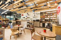 Coffee shops as inspiration for classroom design--Links to a post about flexible seating in a middle school language arts classroom.