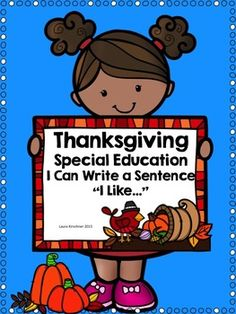 Please leave feedback! Enjoy this Thanksgiving writing activity! I have had great success for beginning readers and writers!