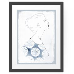 Modernes Poster: Delia by youdesignme. #hellosunday