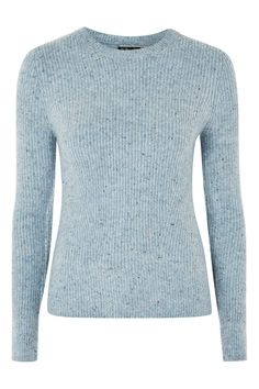 This knitted fine stretch jumper is the perfect layering item. Featuring a crew neck, long sleeves and ribbed detail. Pair with all your denim jeans for a casual look or try it with florals. Fashion 2017, Love Fashion, Womens Fashion, Fashion Trends, Casual Looks, Work Wear, Knitwear, Jumper, Topshop