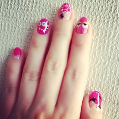 #nail #monster #painting #mirrornails