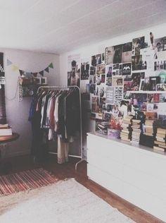 Imagem de room, bedroom, and book