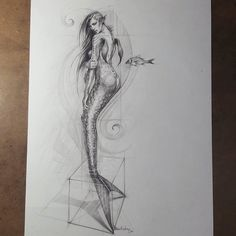 WANT A FEATURE ?   CLICK LINK IN MY PROFILE !!!    Tag  #LADYTEREZIE   Repost from @edizkan   Mermaid drawing inspired from a photo of @allochkaberger  #woman #beauty #mermaid #drawing #dessin #sketch #instalike #dibujo #art #artoftheday #model #pencil #イラスト  #アート #рисунок  #desenho #instalikes #pencildrawing #zeichnung #çizim #fish #eskiz #figuredrawing  #artist #sketchbook via http://instagram.com/ladyterezie