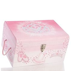 1 Kids Storage Trunk/chest, Store and Organize Your Little One Treasures (Small, Ballet Dancer) Storage Trunk, Kids Storage, Storage Boxes, Storage Organization, Trunks And Chests, Baby Box, Christmas Gift For You, Ballet Dancers, Kids And Parenting