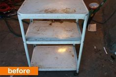 Before & After: Rita's From Rusty to Cherished Cart
