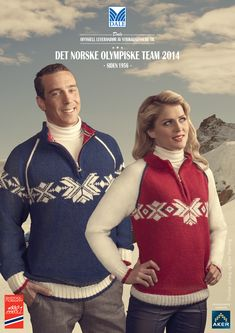 Norwegian Olympic Sweater by Dale Garn (Dale of Norway). http://www.dalegarn.com/shop_pattern_detail.php?hId=1414