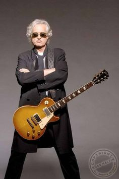 Jimmy Page / Gibson Les Paul... these two put together. No words can describe how much of an inspiration jimmy is.