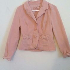 Vintage pink corduroy jacket Very feminine and unique. Unif lovers, American Apparel lovers, O mighty lovers, and Urban Outfitters lovers will admire! Jackets & Coats