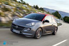 New Opel Adam S 150 CV left front Quarter View 2015 Automoveis-Online