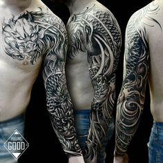 asian tattoos for women cherry blossoms - asian tattoos ; asian tattoos for women ; asian tattoos for women japanese style ; asian tattoos for women cherry blossoms ; Tattoo Dragon And Phoenix, Dragon Tattoos For Men, Dragon Sleeve Tattoos, Japanese Dragon Tattoos, Japanese Sleeve Tattoos, Best Sleeve Tattoos, Sleeve Tattoos For Women, Tattoo Sleeve Designs, Tattoo Designs Men