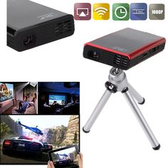 Mini Android 4.2 Multimedia DLP HD Projector Home Cinema HDMI USB