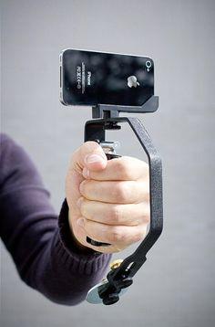 Picosteady video camera stabilizer, via Julie Gallaher