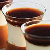 Mousse de chocolate con mascarpone y gelatina de café
